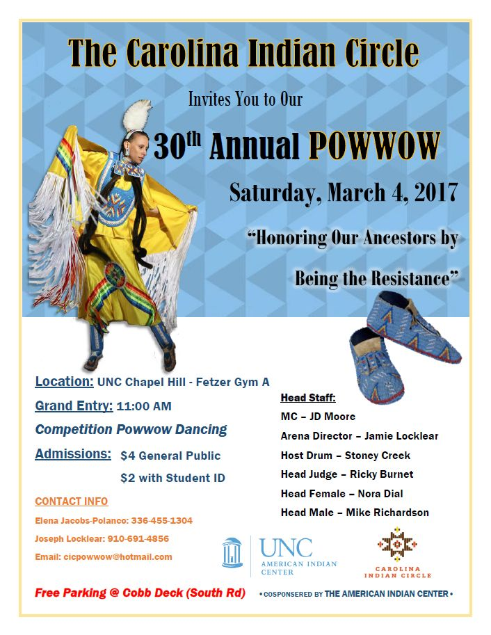 2017 CIC Powwow Flyer. Final FetzerA