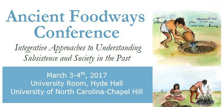 Ancient Foodways Conference. UNC March 3-4, 2017. cover1