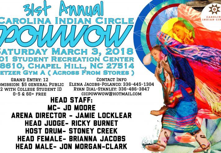 31st Annual Carolina Indian Circle Powwow