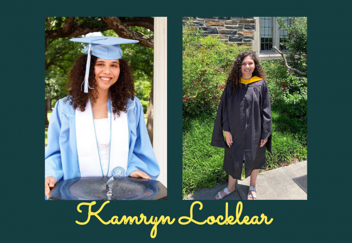 Kamryn Locklear and her journey after UNC